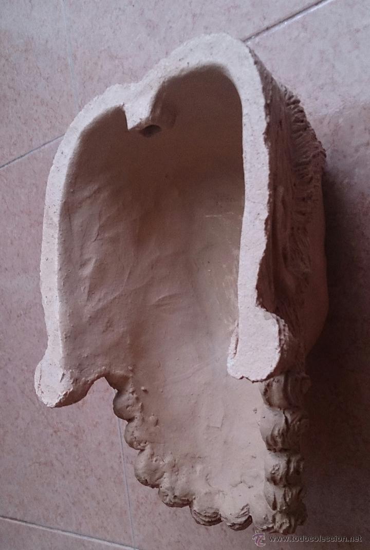 Arte: Cabeza antigua de gran tamaño ( cabeza de cristo ) . - Foto 12 - 46634954