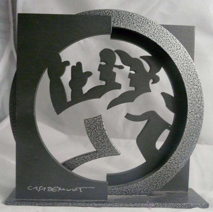 DAVID CASADEMUNT - (Arte - Escultura - Hierro)