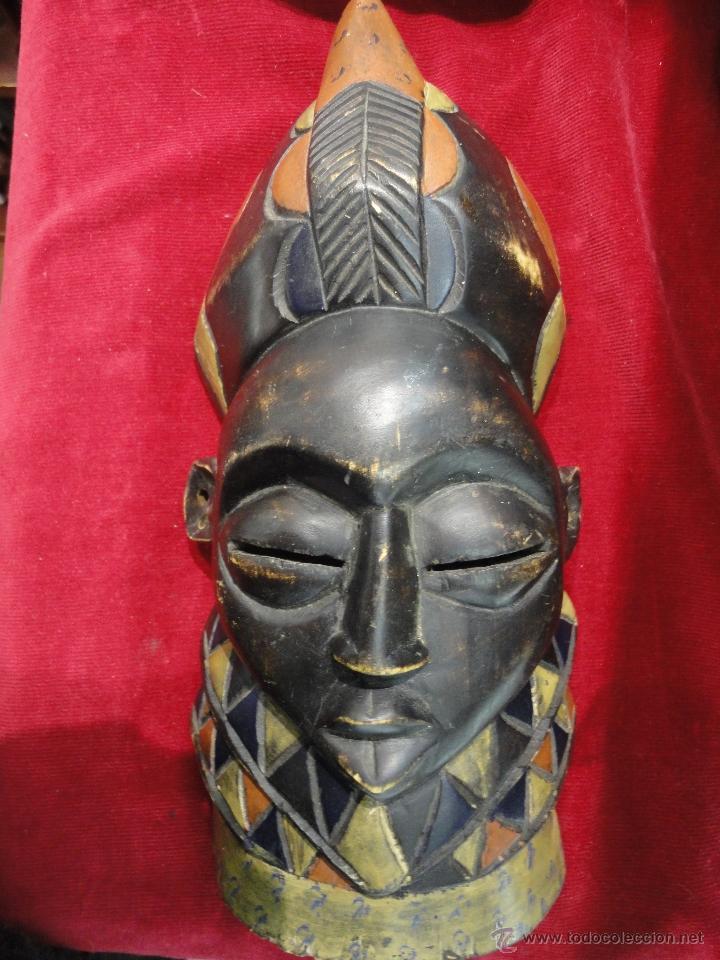 MASCARA AFRICANA (Arte - Escultura - Madera)