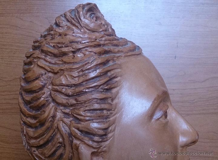 Arte: Busto antiguo de doncella en terracota ( año 1900 ) . - Foto 12 - 49082727
