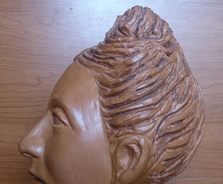 Arte: Busto antiguo de doncella en terracota ( año 1900 ) . - Foto 16 - 49082727