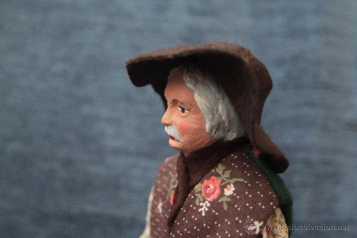 Arte: 2 figuras en terracota, SANTONS GASQUET, fabricado en Francia 26cm - Foto 11 - 49545215