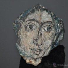 Arte: PINTURA SOBRE PIEDRA CON EFECTO 3D , FIRMADA. Lote 51350943