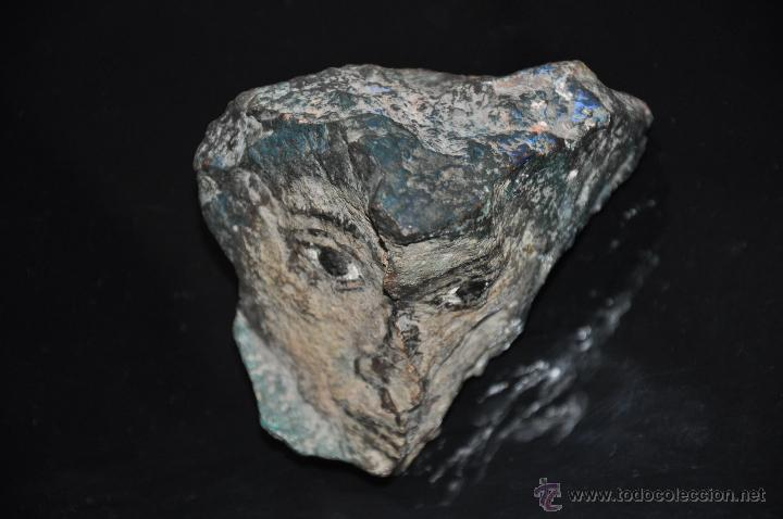 Pintura sobre piedra con efecto 3d firmada comprar for Pintura efecto piedra