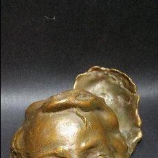 Arte: PRECIOSO Y ANTIGUO BRONCE ARTÍCULO NOUVEAU PP.SG.XX. CARA DE NIÑO 1900 - 1920. Lote 51710676