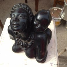Arte: ENTERNECEDOR BUSTO DE MADRE CON NIÑO. SWEET BUST OF MOTHER AND CHILD.. Lote 52154686