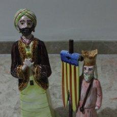 Arte: PAREJA DE ESCULTURAS DE MOROS Y CRISTIANOS? 2010 Y 2011 FIRMADA Y MARCADA POR JOSE ROYO. Lote 52162214