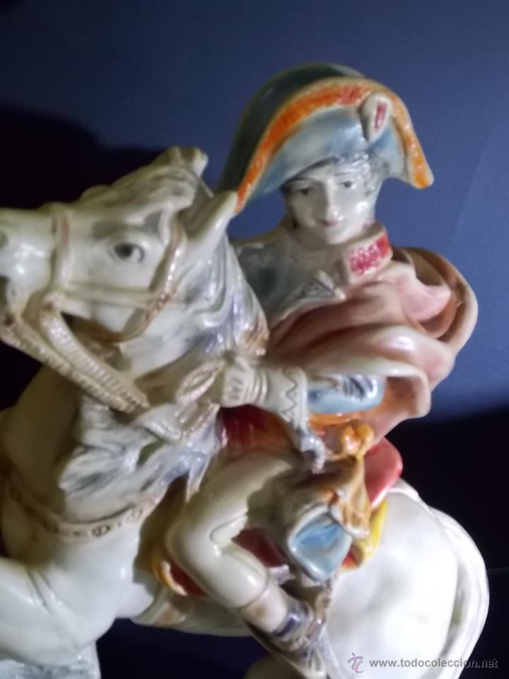 Arte: figura escultura de estuco o terracota Napoleon - Foto 2 - 52315243