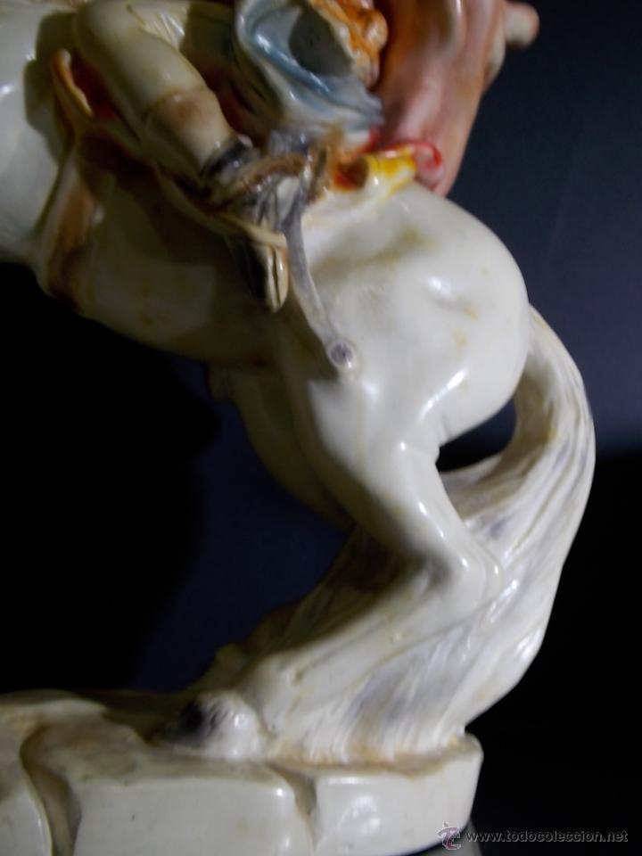 Arte: figura escultura de estuco o terracota Napoleon - Foto 5 - 52315243