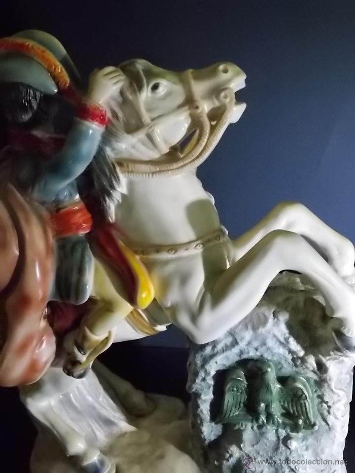 Arte: figura escultura de estuco o terracota Napoleon - Foto 10 - 52315243