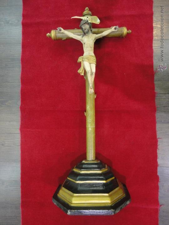 CRISTO TALLA MADERA (Arte - Escultura - Madera)