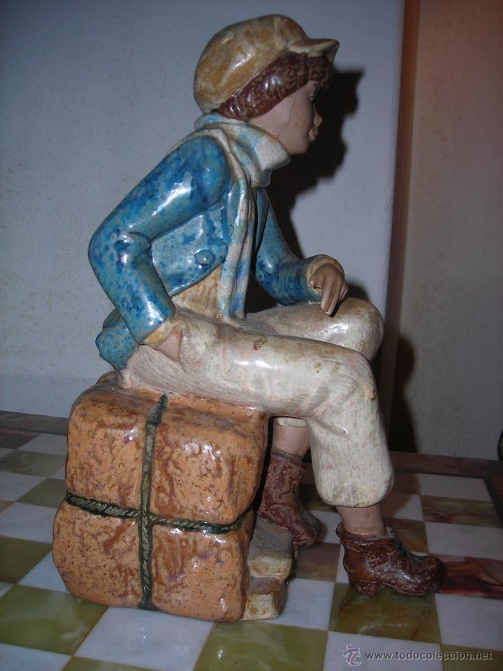 Arte: Escultura de cerámica de NADAL. Descatalogada. - Foto 5 - 53502132
