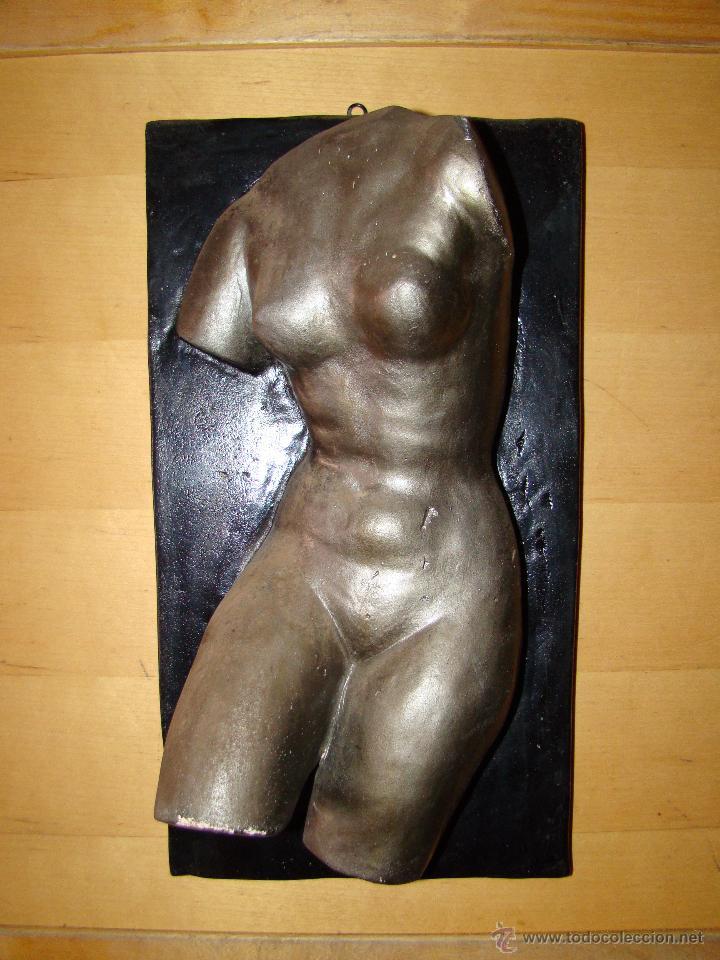 TORSO DE MUJER (Arte - Escultura - Terracota )