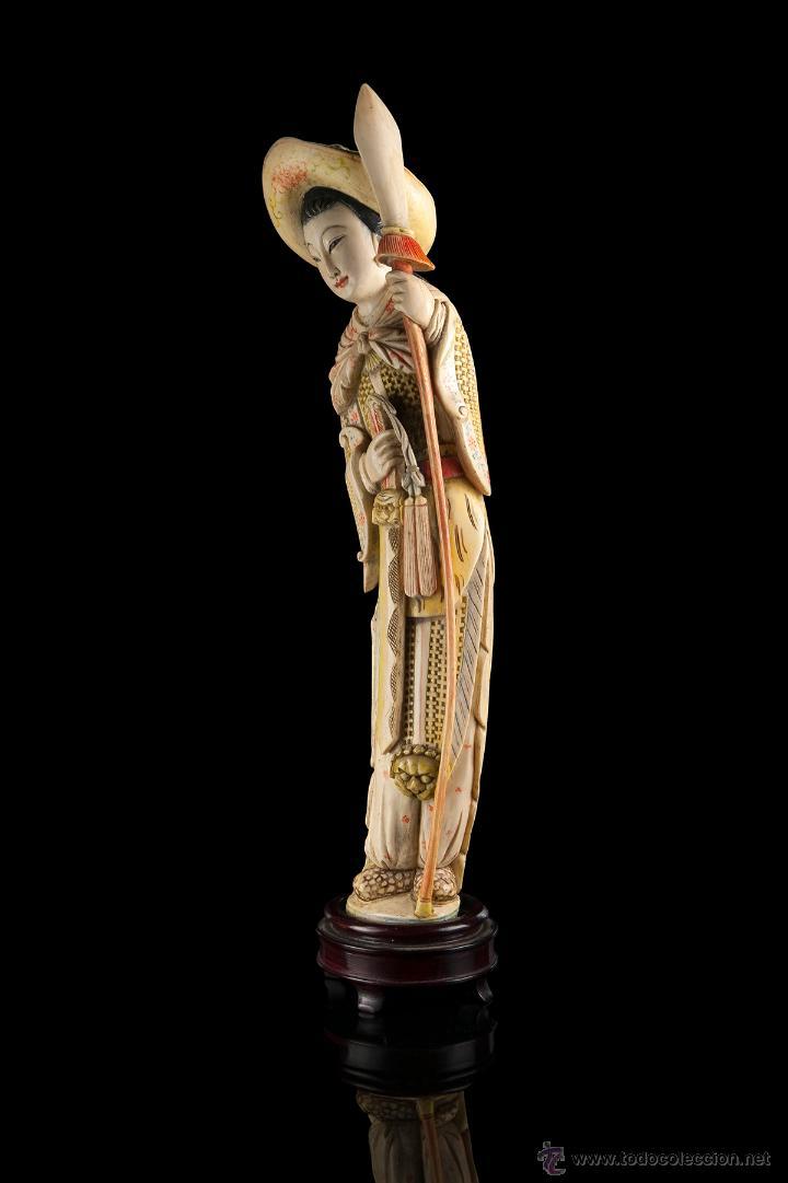 Arte: Escultura marfil china - Foto 2 - 53774617