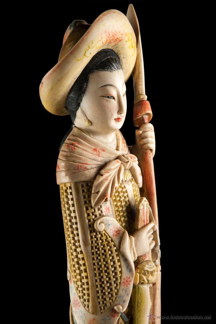 Arte: Escultura marfil china - Foto 3 - 53774617