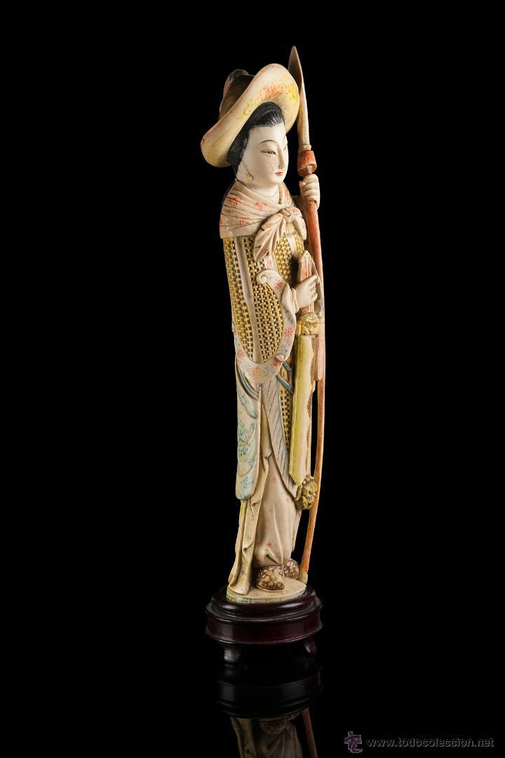 Arte: Escultura marfil china - Foto 4 - 53774617