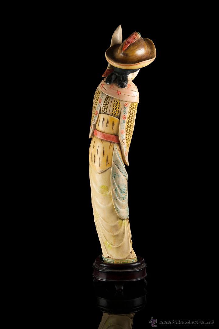 Arte: Escultura marfil china - Foto 5 - 53774617