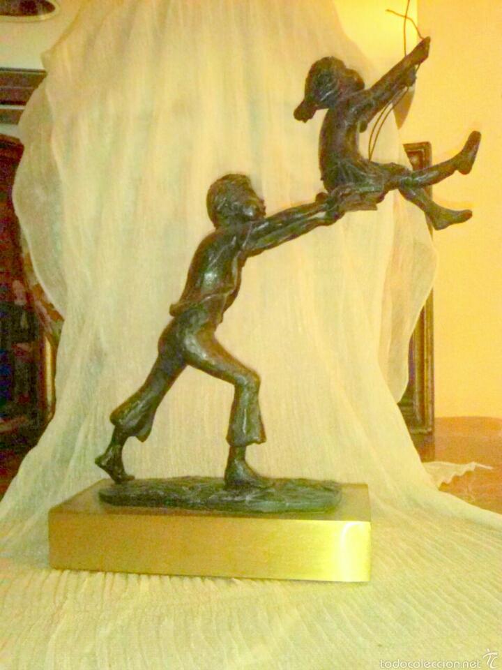 Arte: Escultura de bronce - Foto 4 - 53889773