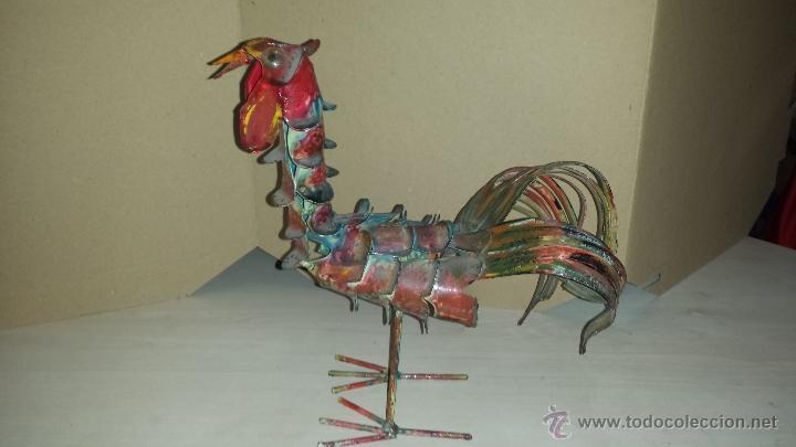 GALLO METAL (Arte - Escultura - Hierro)