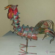 Arte: GALLO METAL. Lote 54559177