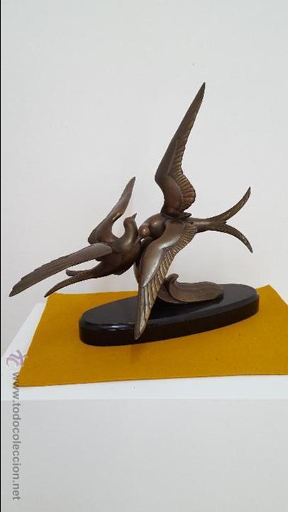 ESCULTURA ART DECÓ. (Arte - Escultura - Bronce)