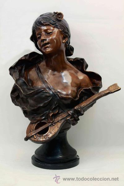 BRONCE ART NOUVEAU (Arte - Escultura - Bronce)