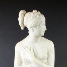 Arte: VENUS BORGHESE. ESCULTURA. COPIA DE CANOVA. EUROPA. PRIMERA MITAD SIGLO XX.. Lote 54317818