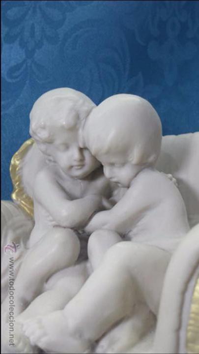 Arte: PAREJA DE NIÑOS EN SOFÁS - Foto 3 - 54915760