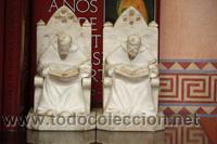 ESCULTURAS-MONJES-DE-ALABASTRO (Arte - Escultura - Alabastro)