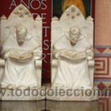 Arte: ESCULTURAS-MONJES-DE-ALABASTRO. Lote 55005532