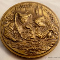 Arte: REPRODUCCION DE ARTE - ACUÑACIONES IBERICAS, BRONCE , 67 MM/ 180 GRAMOS. Lote 55040648