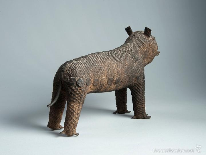 Arte: Curiosa figura en bronce Del siglo XVIII - Foto 2 - 56054059
