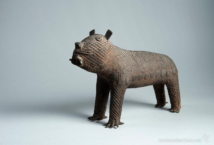 Arte: Curiosa figura en bronce Del siglo XVIII - Foto 3 - 56054059