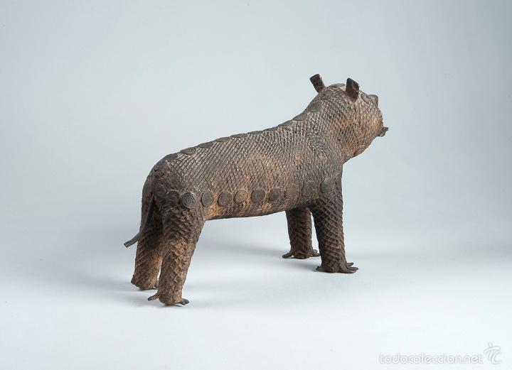 Arte: Curiosa figura en bronce Del siglo XVIII - Foto 4 - 56054059