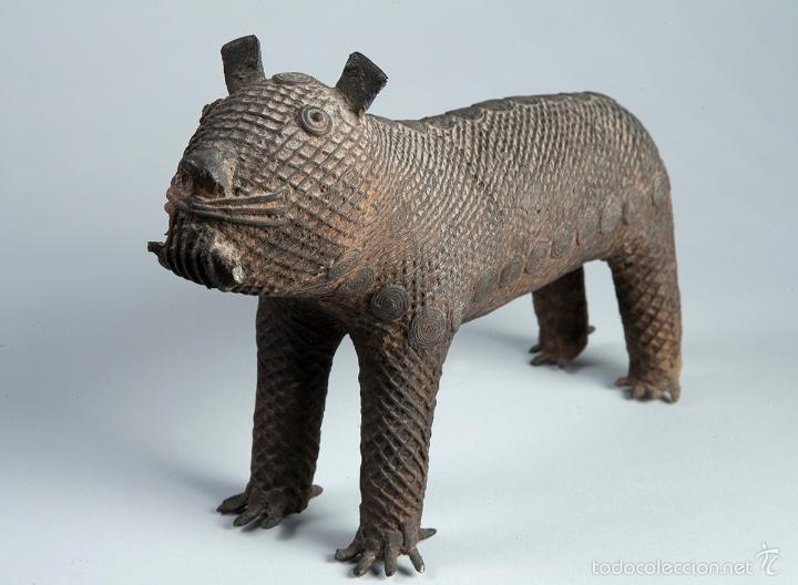 Arte: Curiosa figura en bronce Del siglo XVIII - Foto 5 - 56054059