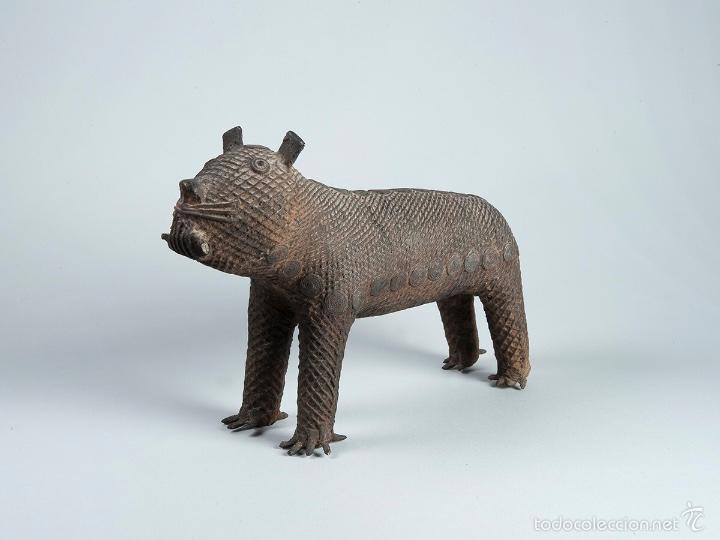 Arte: Curiosa figura en bronce Del siglo XVIII - Foto 6 - 56054059