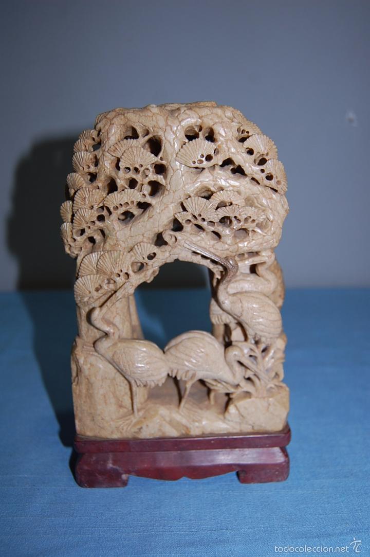 ESCULTURA EN PIEDRA JABÓN (Arte - Escultura - Piedra)