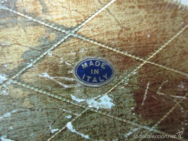 Arte: Antigua caja de madera con pan de oro (ver fotos) 15 x 10 x 5 cm - Foto 11 - 56526665