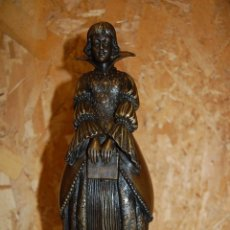 Arte: ESCULTURA EN BRONCE SEGÚN MODELO D.H. CHIPARUS S.XX. Lote 56698625