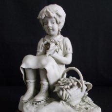 Arte: FIGURA EN PORCELANA BISCUIT DE GIANNI VISENTIN. NUMERADA, FIRMADA Y CON CERTIFICADO DE AUTENTICIDAD.. Lote 56992815