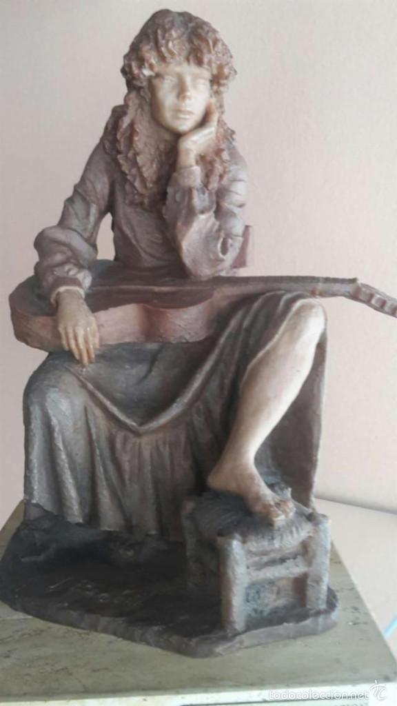 ESCULTURA DE JOSEP BOFILL (Arte - Escultura - Resina)