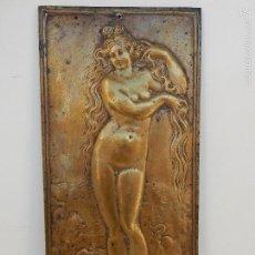 Arte: RELIEVE DE BRONCE. EL NACIMIENTO DE VENUS. SIGLO XVIII. Lote 58270275