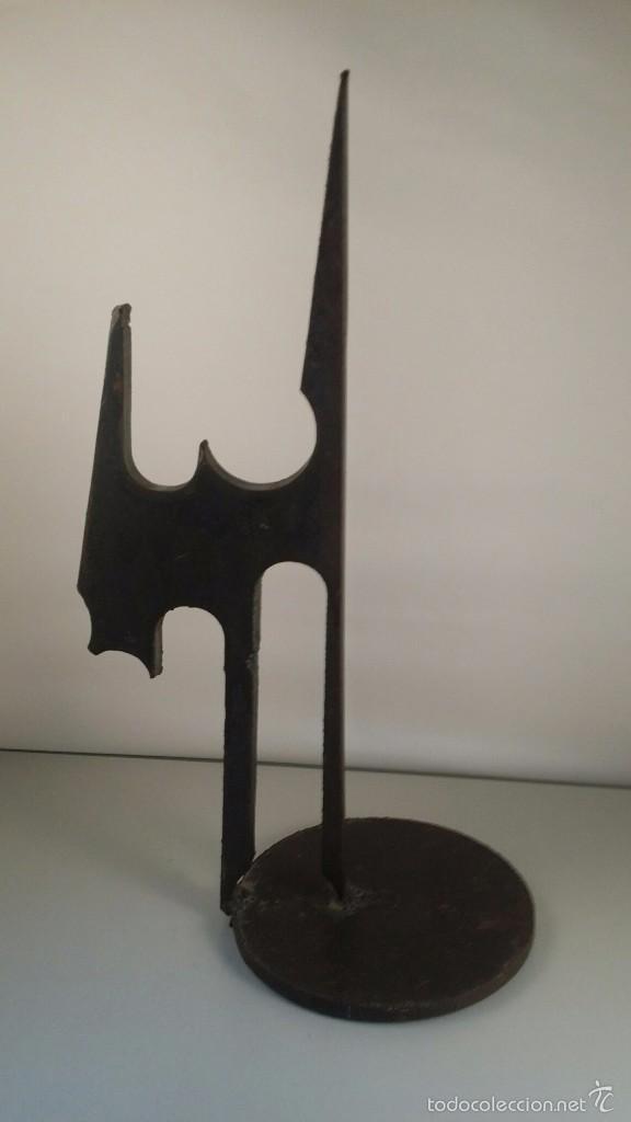 ESCULTURA DE HIERRO. CONCIERTO ESPACIAL Nº 3. DE AGUSTÍN MÉNDEZ. (Arte - Escultura - Hierro)