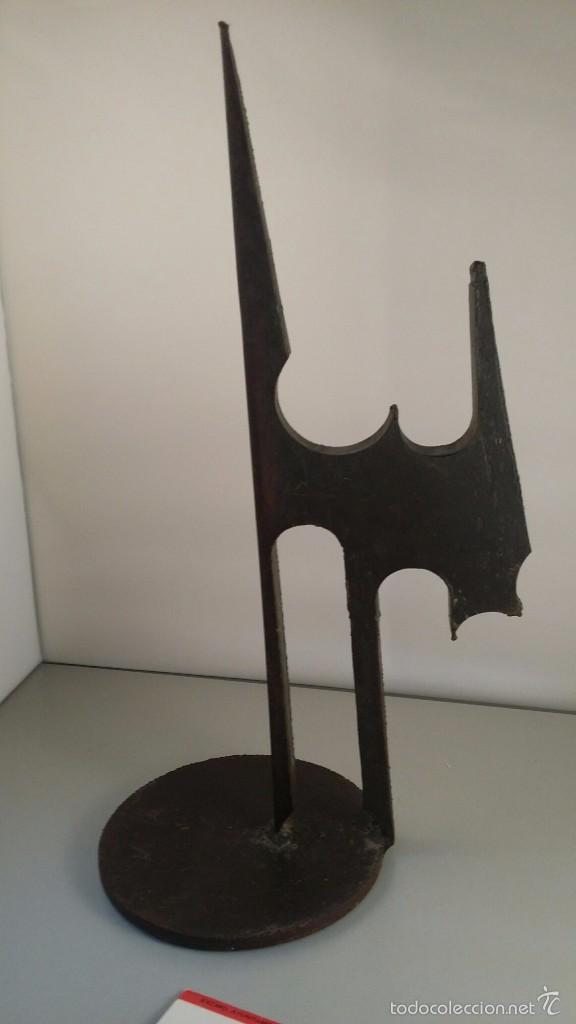 Arte: Escultura de hierro. Concierto Espacial nº 3. de Agustín Méndez. - Foto 5 - 58376375