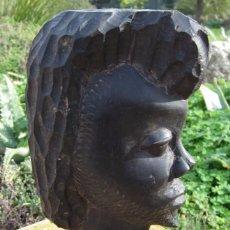 Arte: ESCULTURA TALLA AFRICANA EBANO. Lote 59479959