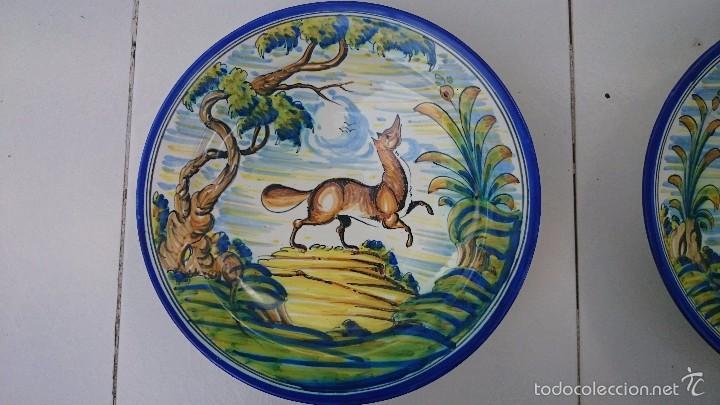 Arte: Comjunto de platos talavera 34 ACR. - Foto 2 - 60117175