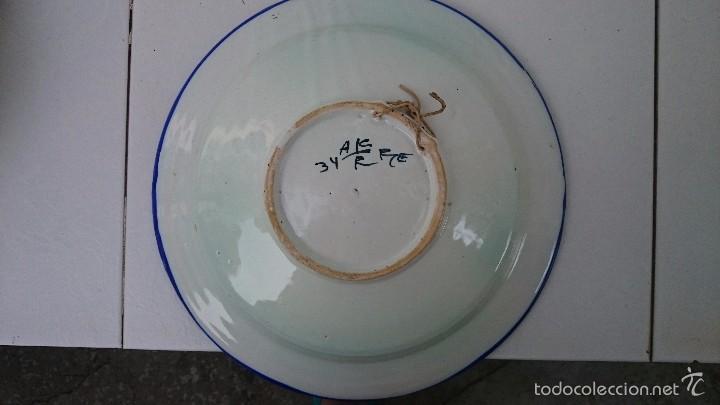 Arte: Comjunto de platos talavera 34 ACR. - Foto 4 - 60117175