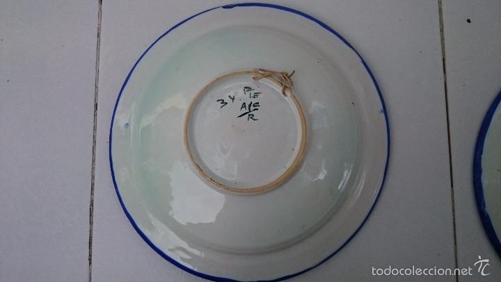 Arte: Comjunto de platos talavera 34 ACR. - Foto 5 - 60117175