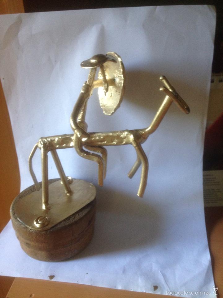 Arte: Escultura de hierro y bronce - Foto 3 - 61406710