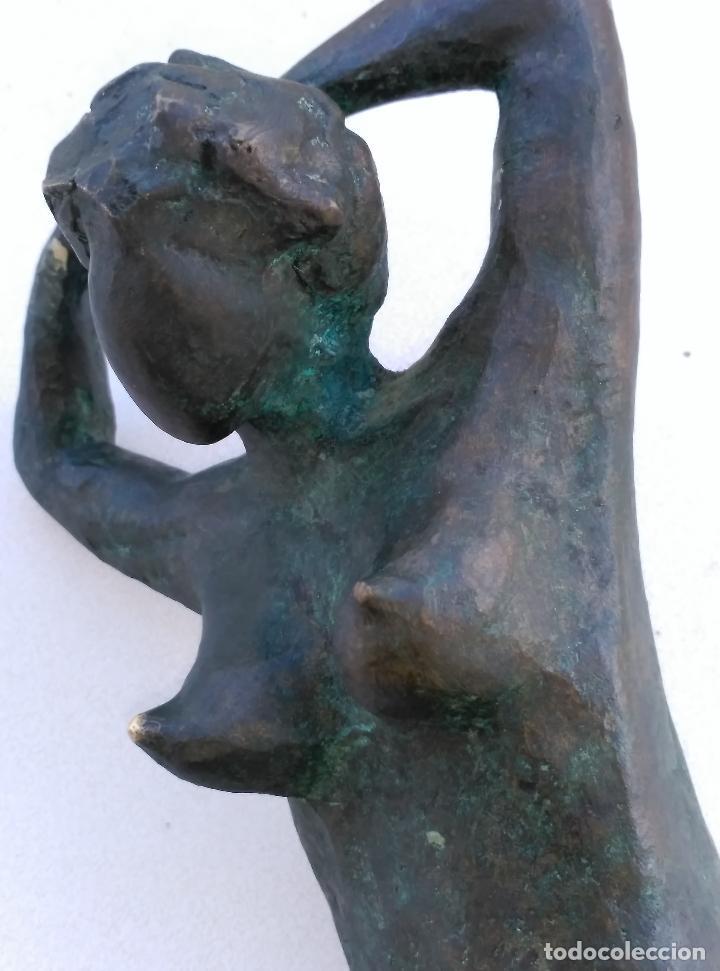 Arte: FIGURA FEMENINA EN BRONCE - Foto 5 - 42095599